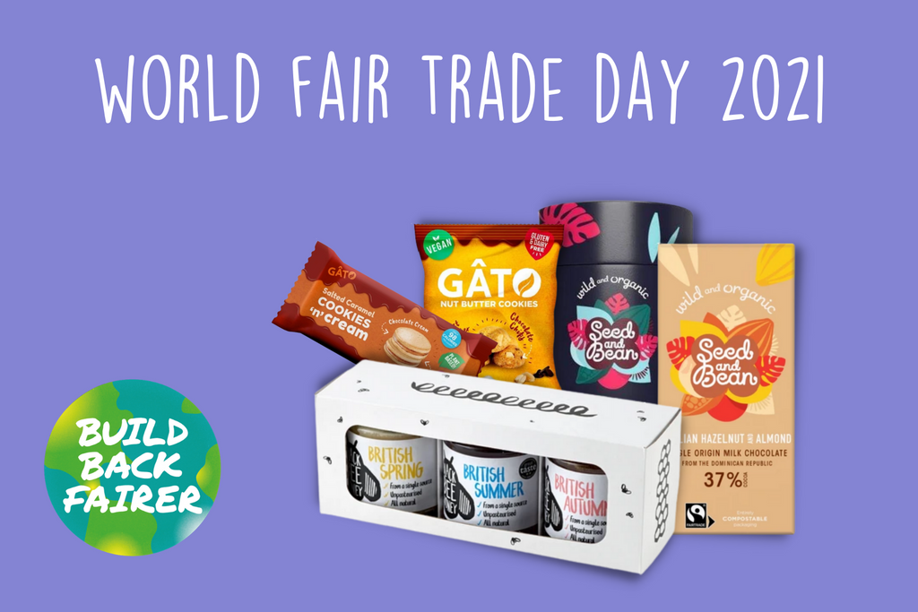 World Fair Trade Day 2021 fairtrade and vegan products