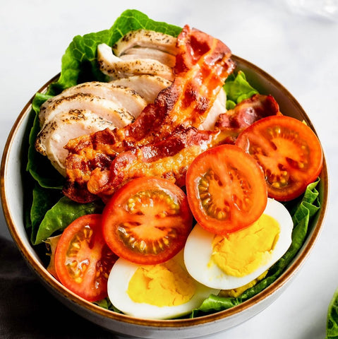 Hunter and Gather Keto Salad with Chipotle and Lime Mayonnaise
