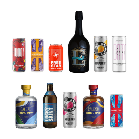 Photos of Mighty Small's new alcoholic and non-alcoholic drinks range