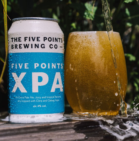 The Five Points Brewing Cop XPA