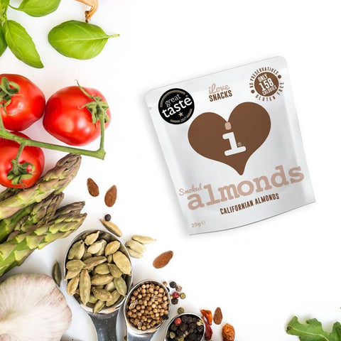 iLove Snacks Toasted Almonds Healthy Protein