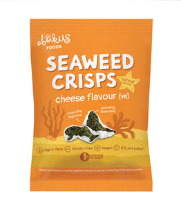 Abakus Foods, Cheese Flavour Seaweed Crisps, 18g
