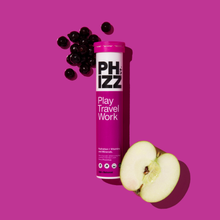 Load image into Gallery viewer, Apple + Blackcurrant Multivitamin & Hydration Effervescent, 20 Tablets