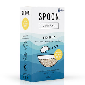 Spoon Cereals Big Blue Cereal, 400g - Mighty Small