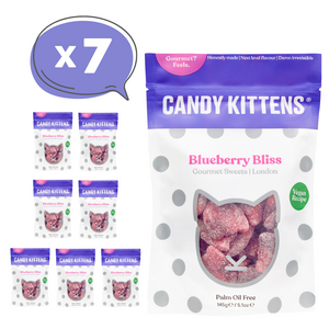 Blueberry Bliss Vegan Gourmet Sweets, 145g - Mighty Small