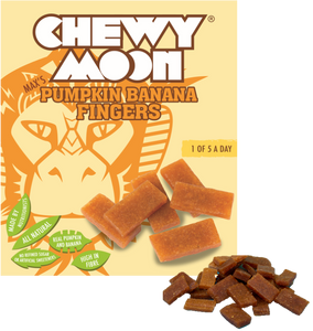 ChewyMoon, Kids Pumpkin Banana Fingers Multipacks - Mighty Small