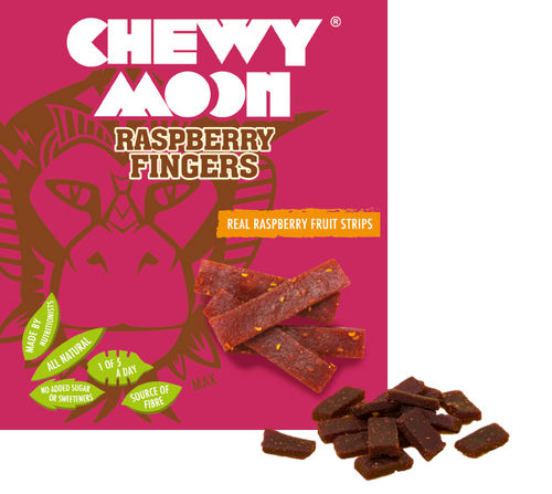 ChewyMoon, Kids Raspberry Fingers Multipacks - Mighty Small