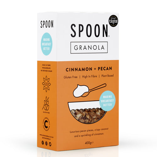 Cinnamon + Pecan Granola, 400g - Mighty Small