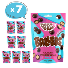 Load image into Gallery viewer, Ballers - Crunchy Dark Chocolate Balls, 75g