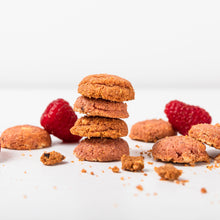 Load image into Gallery viewer, Almond Butter + Raspberry Cookie Bites, 33g