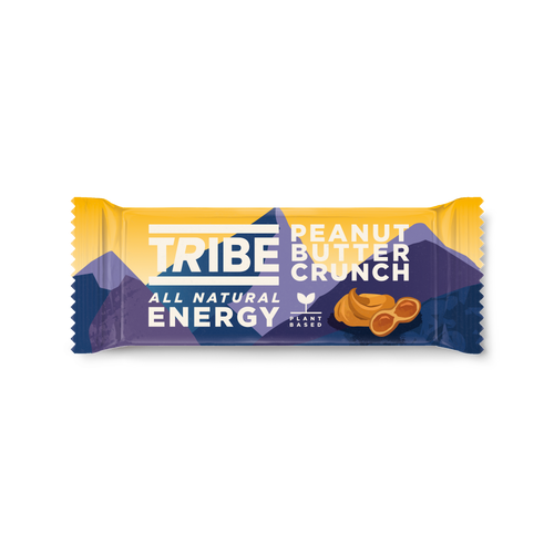 TRIBE, Infinity Energy Peanut Butter Crunch Oat Bar - Mighty Small