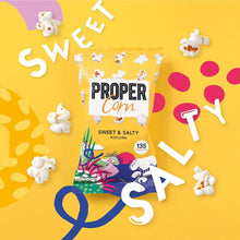 Load image into Gallery viewer, PROPERCORN Sweet + Salty Sharing Popcorn, 90g