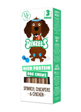Load image into Gallery viewer, Denzel's, High Protein Dog Chews - Mighty Small