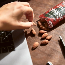Load image into Gallery viewer, Smoky BBQ Almonds, 35g