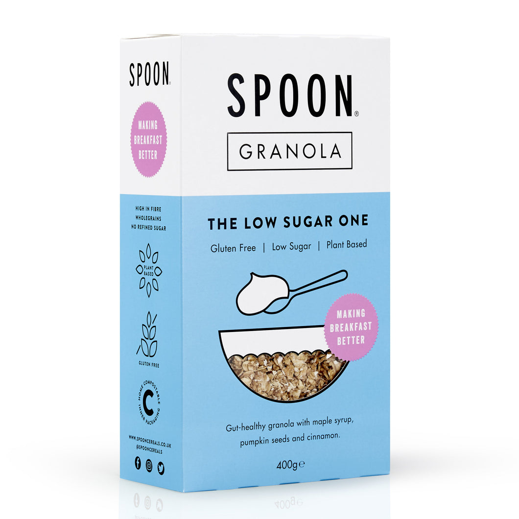 Low Sugar Granola, 400g - Mighty Small