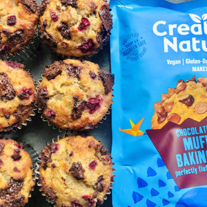 Creative Nature Chocolate Chip Muffin Baking Mix, 250g - - Mighty Small