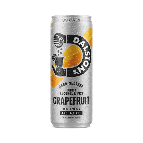 Dalston's Soda Co Grapefruit Hard Seltzer, 330ml - Single - Mighty Small