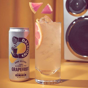 Dalston's Soda Co Rhubarb Hard Seltzer, 330ml - Single - Mighty Small