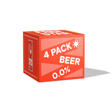 Load image into Gallery viewer, Alcohol Free Beer 0.0%, 330ml, 4 Pack