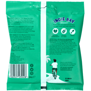 Indie Bay Snacks Pretzel Thins, Sour Cream + Onion, 24g - - Mighty Small