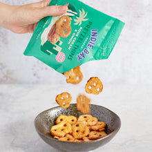 Load image into Gallery viewer, Indie Bay Snacks Pretzel Thins, Sour Cream + Onion, 24g - - Mighty Small
