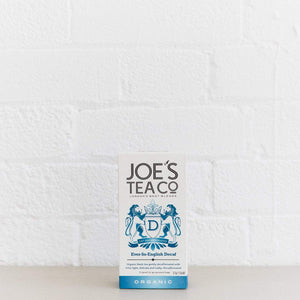 Joe's Tea Co. Ever-So-English Decaf - Organic Tea - - Mighty Small
