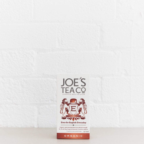 Joe's Tea Co. Ever-So-English Everyday - Organic Tea - - Mighty Small
