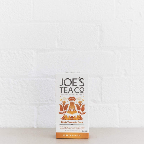 Joe's Tea Co. Feisty Turmeric Guru - Organic Tea - - Mighty Small