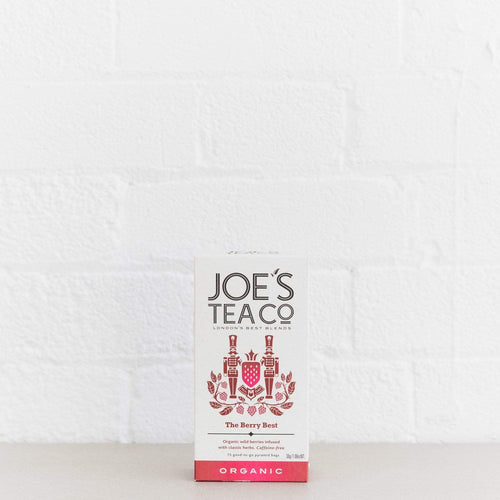 Joe's Tea Co. The Berry Best - Organic Tea - - Mighty Small