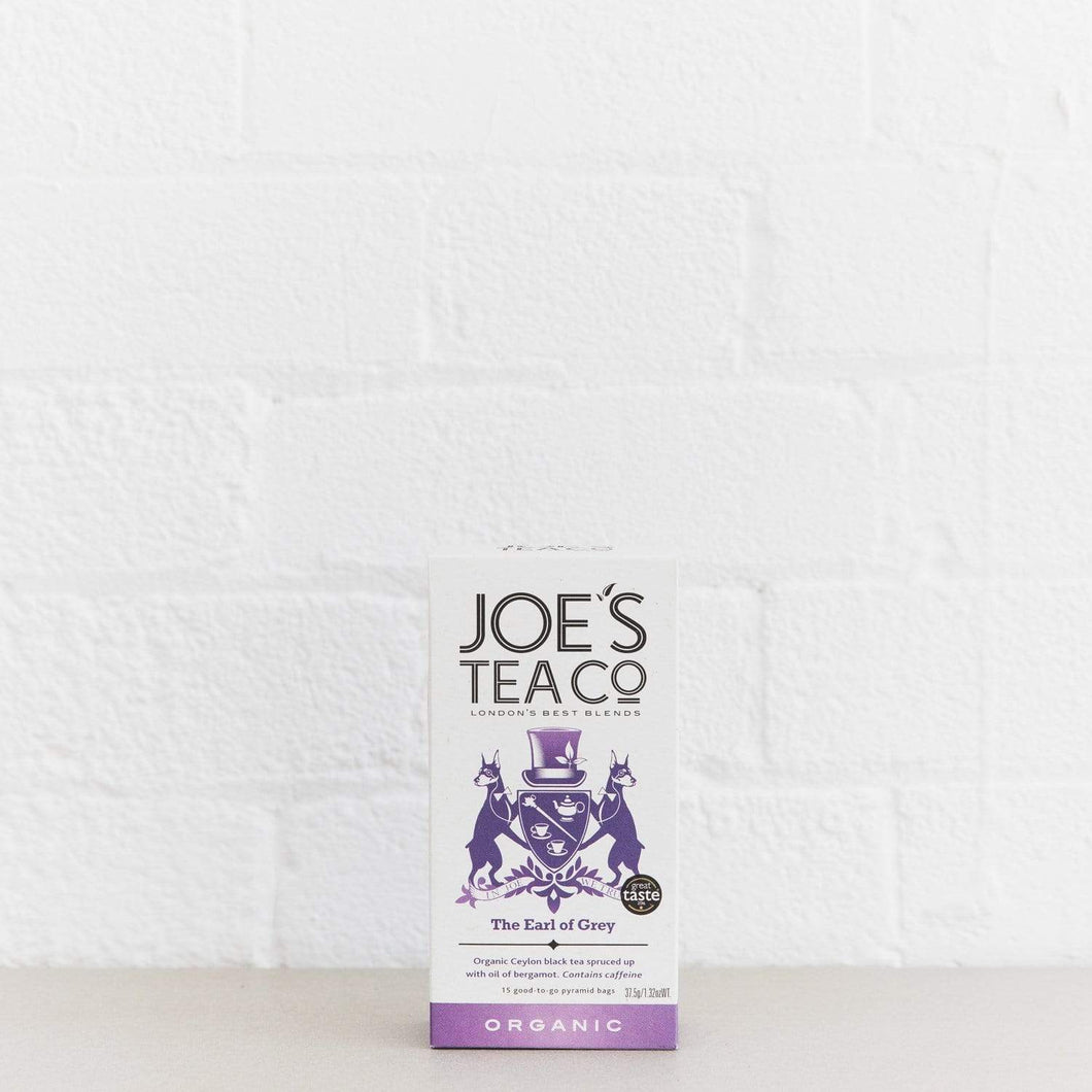 Joe's Tea Co. The Earl of Grey - Organic Tea - - Mighty Small