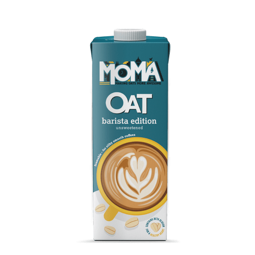 MOMA Oat Drink - Barista Edition, 1L - - Mighty Small