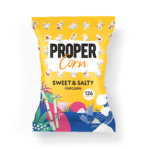 PROPER PROPERCORN Sweet + Salty Sharing Popcorn, 90g - Single - Mighty Small