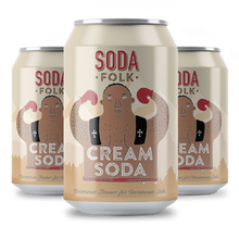 Load image into Gallery viewer, Soda Folk Cream Soda, 330ml - - Mighty Small