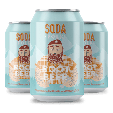 Root Beer, 330ml - Mighty Small