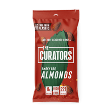 Load image into Gallery viewer, The Curators Smoky BBQ Almonds, 35g - - Mighty Small