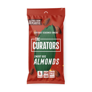 The Curators Smoky BBQ Almonds, 35g - - Mighty Small