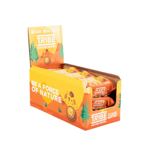 TRIBE Nature Bombs - Almond Nut Butter, 40g - Box of 12 - Mighty Small
