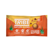 Load image into Gallery viewer, TRIBE Nature Bombs - Almond Nut Butter, 40g - Single - Mighty Small