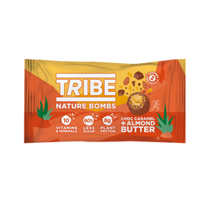 TRIBE Nature Bombs - Almond Nut Butter, 40g - Single - Mighty Small