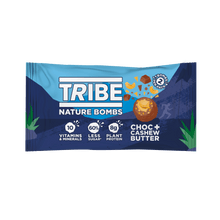 Load image into Gallery viewer, TRIBE Nature Bombs - Cashew Nut Butter, 40g - Single - Mighty Small