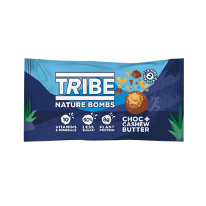 TRIBE Nature Bombs - Cashew Nut Butter, 40g - Single - Mighty Small