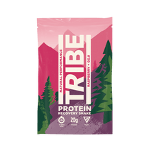 Load image into Gallery viewer, TRIBE Raspberry + Goji Protein Shake Sachet, 36g - - Mighty Small