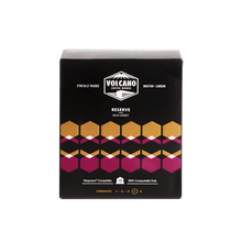 Load image into Gallery viewer, Volcano Coffee Works Reserve Rich Sweet Coffee Pods, 10 pods - - Mighty Small