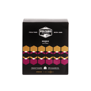 Volcano Coffee Works Reserve Rich Sweet Coffee Pods, 10 pods - - Mighty Small