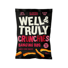 Load image into Gallery viewer, Banging BBQ Crunchy Corn Snacks, 30g
