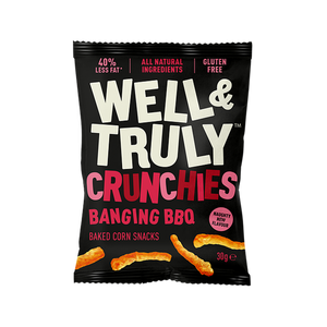 Banging BBQ Crunchy Corn Snacks, 30g
