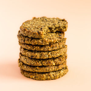 Wholey Moly, Almond, Hemp & Chia cookie