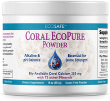 Load image into Gallery viewer, Coral Calcium EcoPure Powder 16 Ounces - CalciumSupreme.com