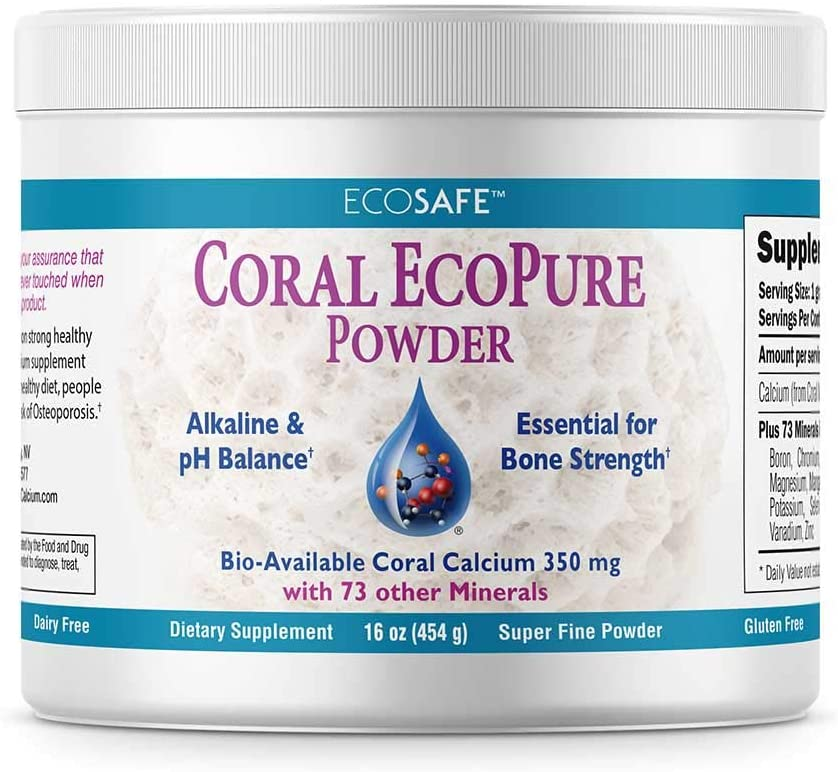 Coral Calcium EcoPure Powder 16 Ounces - CalciumSupreme.com