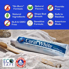 Load image into Gallery viewer, Coral White Mint Remineralizing Toothpaste 6 oz - CalciumSupreme.com